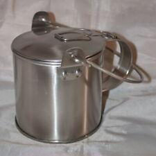 .Us Civil War Heavy Duty Tin Mucket-Corn Boiler - Civil War-Mountain Man - New