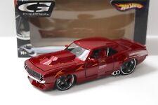 1:24 Hot Wheels Chevrolet Camaro 1969 G-Machines red NEW bei PREMIUM-MODELCARS