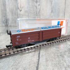 ROCO 25093 - SPUR N - DB - Reinigungswagen ROCO CLEAN - OVP - #P43487