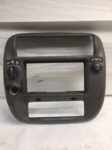 2001 Ford Explorer Ranger  Radio Heater Control Bezel