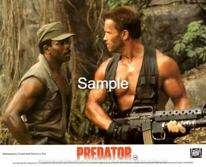 Predator (1987) - Schwarzenegger - 8x10 Lobby Card - Set of 8 - Reproduction