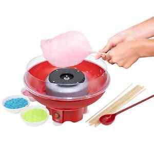 Heat & Eat Candy Floss Maker Machine Ideal For Home Fun Kids Parties