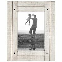 Americanflat Rustic Decor Wood Picture Frame 4x6 5x7 8x10 Easel Stand Wall Table