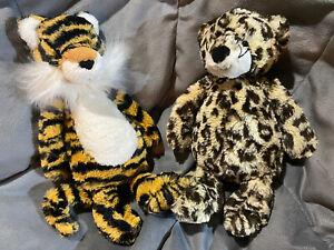 "Jellycat Bashful Leopard Tiger 11"" Plush medium Jungle Toys"