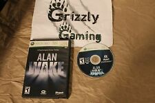 USED Alan Wake XBOX 360 (NTSC) Tested and Working!