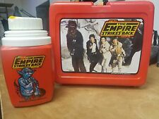 Vintage Star Wars The Empire Strikes Back Lunch Box Lunchbox WITH THERMOS