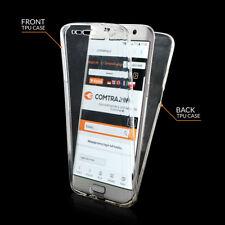 Coque silicone avant-arrière transparente 4D Full pour Samsung Galaxy S9 Plus