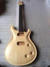 electric guitar body with one guitar neck 09019 New top grade Unfinished guitar