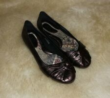 Born W62114 Metallic Womens Shoes Size 9 M Flats