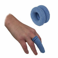QUALICARE FIRST AID CATERING BLUE FINGER BOBS BUDDIES TUBULAR BANDAGE DRESSINGS