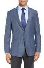 HUGO BOSS 'Nordan' Wool & Silk Trim Fit Blazer Jacket, Size 40L - $595
