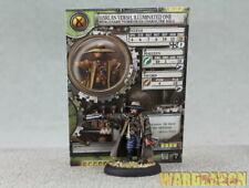 Warmachine WDS painted Mercenaries  Harlan Phineas Versh Illuminated One j28