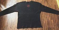 Vintage NIN NINE INCH NAILS Concert Thermal Long sleeve Black Shirt
