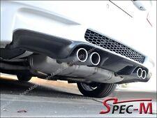 3D Style Carbon Fiber Bumper Diffuser Add on Lip for BMW 08-13 E92 E93 M3 Only