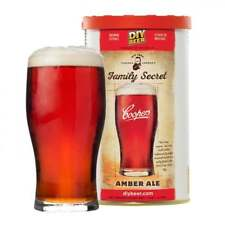 COOPERS Premium Home Brew Making Beer Refill Ingredient Family Secret Amber Ale