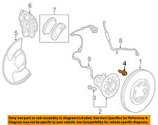 GM OEM Brake-Front-Wheel Bolt 11609768