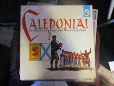 1960 THE MacPHERSON SINGERS & DANCERS OF SCOTLAND Caledonia LP Elektra VG+/VG-