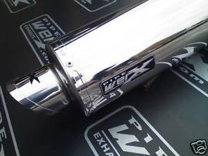 Honda VFR 1200 X Crosstourer 2012 + Edelstahl Rund Auspuff Auspufftopf