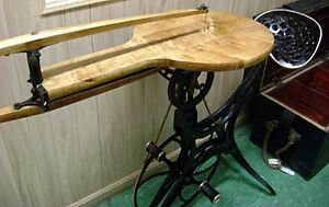 Antique Pedal Operated Bicycle Style Scroll Saw, Circa 1876