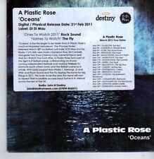 (BP644) A Plastic Rose, Oceans - DJ CD