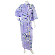 Magnolia Long Cotton Japanese Kimono XL