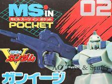Gun-EZ LM111E02 1/144 Japan Rare 1993 vintage V Victory Gundam MS in Pocket 02