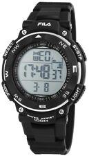 Fila Herren Armbanduhr Uhr Watch Digital Digitaluhr 10 ATM Schwarz Wasserdicht
