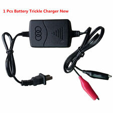 12V 1300mA Battery Trickle Charger 100-240V AC For Motorcycle Tender Maintainer