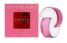 Bvlgari Omnia Pink Sapphire Women 2.2 oz 65 ml *Eau De Toilette Spray Nib Sealed