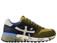 Premiata Scarpa UOMO - Mick 4568 - Blu/Blue - Verde/Green - Sneakers SS20