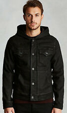 True Religion Brand Jeans Men's Dylan Hooded Coated Jacket Size 3XL  $229