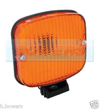 SIM 3132 12V/24V VOLT BRACKET MOUNT AMBER ORANGE DIRECTION INDICATOR LIGHT/LAMP