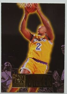 Carte Basketball NBA Skybox 94-95 Anthony Miller RC #245 Los Angeles Lakers