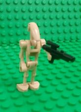 *NEW* Lego Star Wars Battle Droid Roger Roger Minifigure Figure Fig Blaster x 1