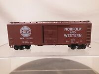 VINTAGE HO SCALE 40' SINGLE DOOR BOX CAR NORFOLK & WESTERN N&W 361508