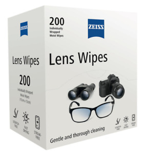Zeiss Lens Cleaning Wipes - 200 Wipes