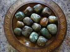 RHYOLITE 1/4 Lb Gemstone Specimens Tumbled Wiccan Pagan Metaphysical