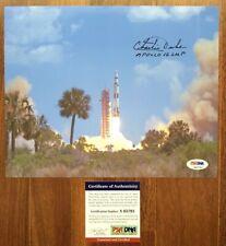 Apollo 16 Moonwalker Astronaut Charlie Duke Signed 10X8 Photo Autograph Psa/Dna