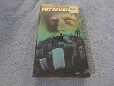 Pet Sematary (VHS, 1989) - STEPHEN KING'S - NEW