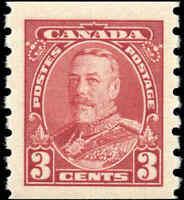 Mint NH Canada 935 F-VF 3c Scott #230 Pictorial Coil Stamp