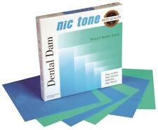 "NIC TONE® RUBBER DAM (5""x5"", 6""x6"")"