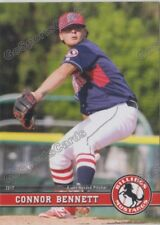 2017 Billings Mustangs Connor Bennett RC Rookie Cincinnati Reds