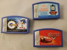 Leap Frog Leapster - LOT OF 3 - Sonic X, Cars, Thomas Calling All Engines!