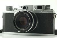 *NEAR MINT* CANON IID Rangefinder 35mm Film Camera w/ 50mm f/2.8 L39 LTM JAPAN
