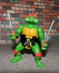 Teenage Mutant Ninja Turtles Raphael with Custom Weapons