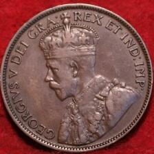 1918 Canada One Cent Foreign Coin