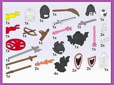 Lego 5383 Castle Accessories Service Pack 28 pcs MISP 1995