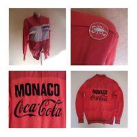 Veste cyclisme P. NICOLAS UC Monaco Coca Cola 1983 CASTELLI made in ITALY N4089