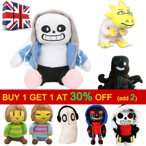 Xmas Gifts Undertale Sans Papyrus Frisk Chara Temmie Plush Stuffed Toys for Kids