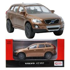 Rastar 1:43 VOLVO XC60 Brown Series DIECAST Car COLLECTION
